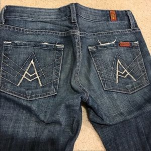 7 for all man kind A frame jeans